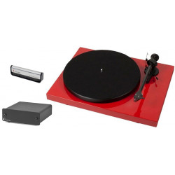 Pro-Ject Debut Carbon DC (2M-RED) + Pro-Ject Phono Box + Pro-Ject Brush It gratis