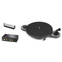 Pro-Ject Elemental + Pro-Ject Phono Box MM + Pro-Ject Brush It gratis